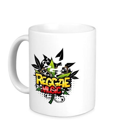 Керамическая кружка Reggae music