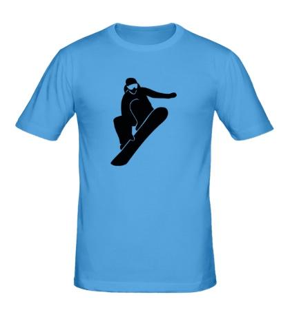 Мужская футболка Ice Snowboard