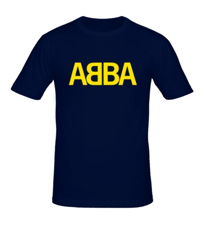 Мужская футболка ABBA