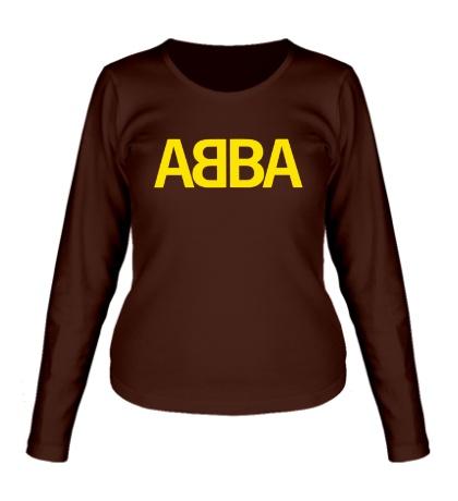 Женский лонгслив ABBA