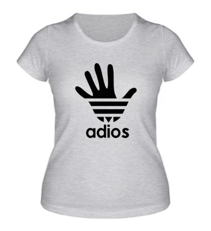 Женская футболка Adios