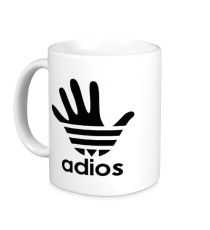 Керамическая кружка Adios