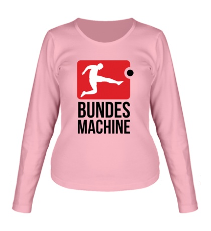 Женский лонгслив Bundes machine football