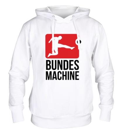 Толстовка с капюшоном Bundes machine football