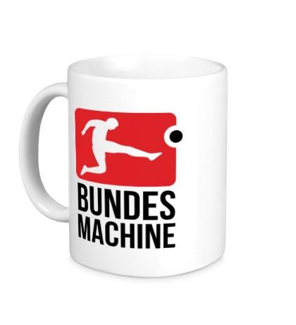 Керамическая кружка Bundes machine football