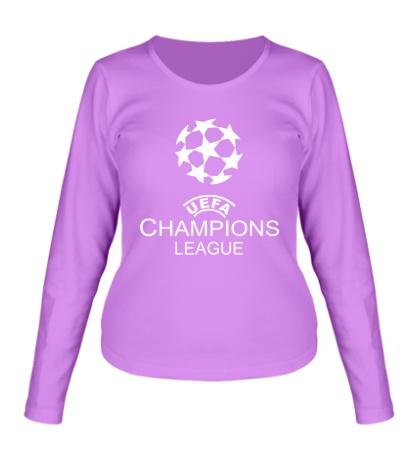 Женский лонгслив UEFA Champions League