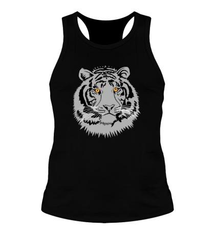 Мужская борцовка Серый тигр