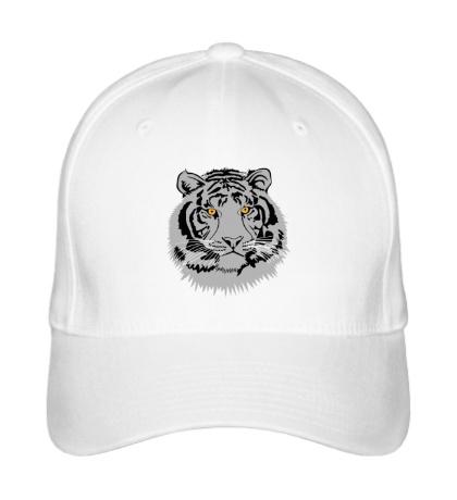 Бейсболка Серый тигр