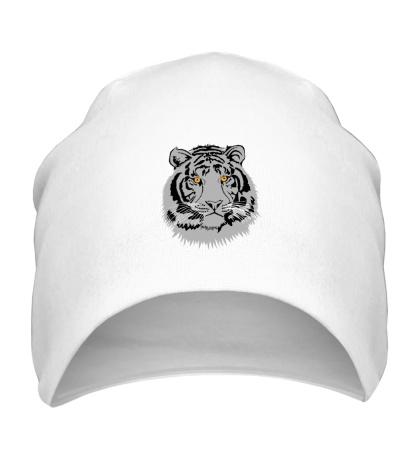 Шапка Серый тигр