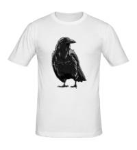Мужская футболка Черный ворон