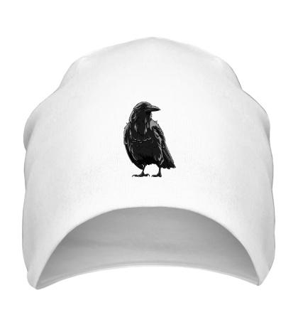 Шапка Черный ворон