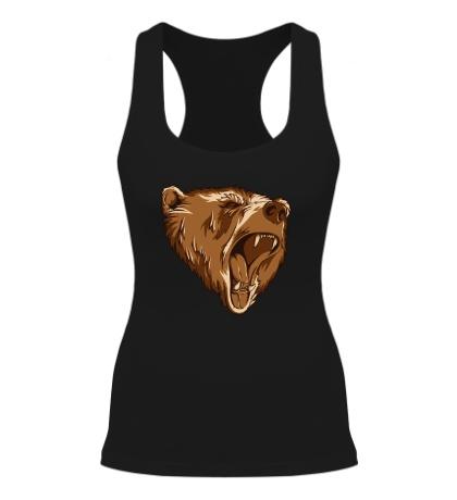 Женская борцовка Разъяренный медведь