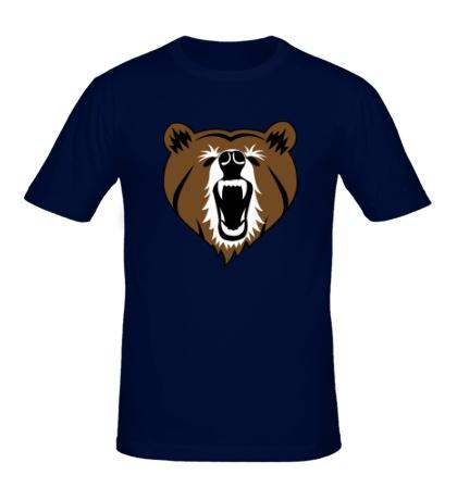 Мужская футболка Бурый медведь