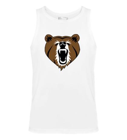 Мужская майка Бурый медведь