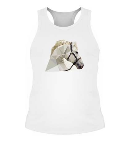Мужская борцовка Абстрактная голова коня