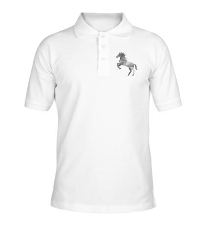 Рубашка поло Абстрактный конь