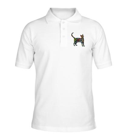 Рубашка поло Декоративный кот