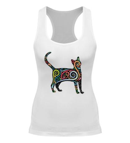 Женская борцовка Декоративный кот