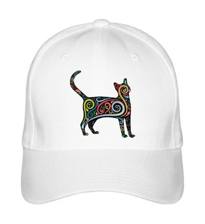 Бейсболка Декоративный кот