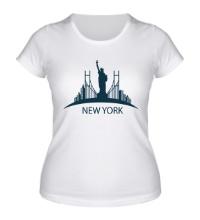 Женская футболка New York