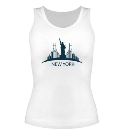 Женская майка New York