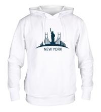 Толстовка с капюшоном New York