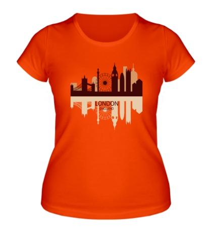 Женская футболка London, England