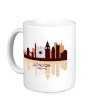 Керамическая кружка London, England
