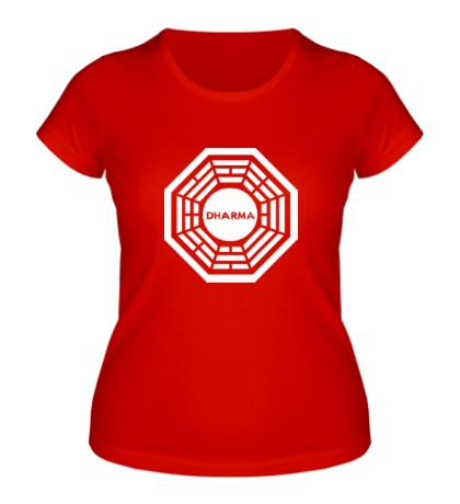 Женская футболка Lost Dharma