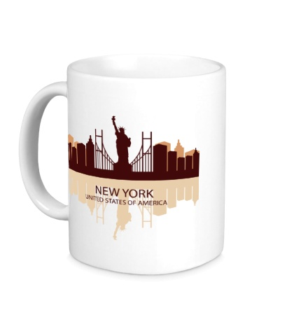 Керамическая кружка New York, USA