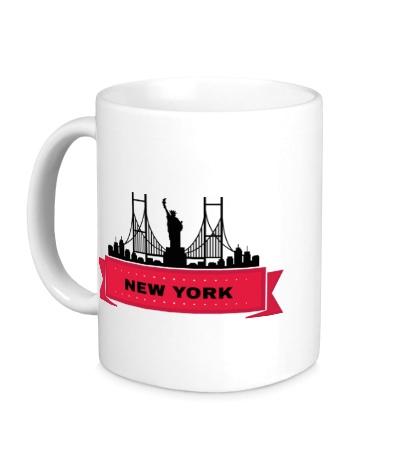 Керамическая кружка Нью-Йорк