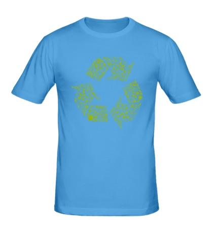 Мужская футболка Экология