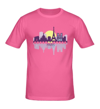 Мужская футболка Paris