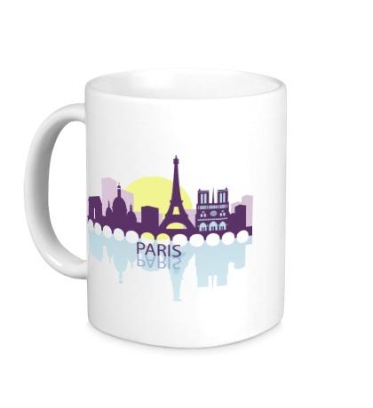 Керамическая кружка Paris