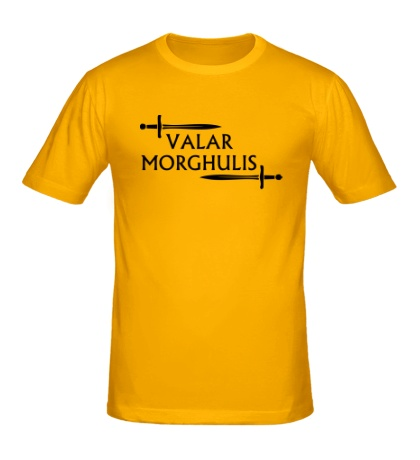 Мужская футболка Valar Morghulis: Logo
