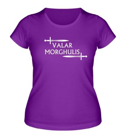 Женская футболка Valar Morghulis: Logo