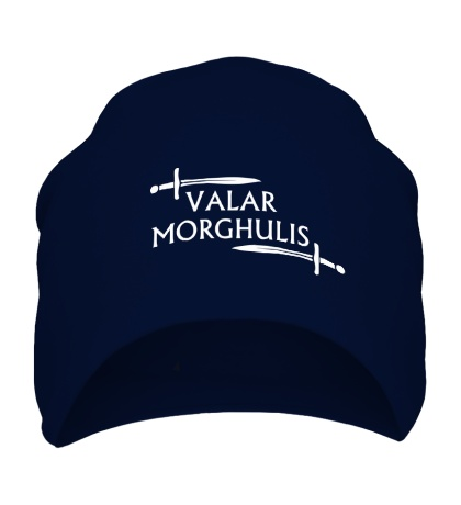 Шапка Valar Morghulis: Logo