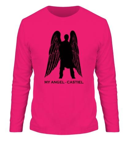 Мужской лонгслив My angel Castiel