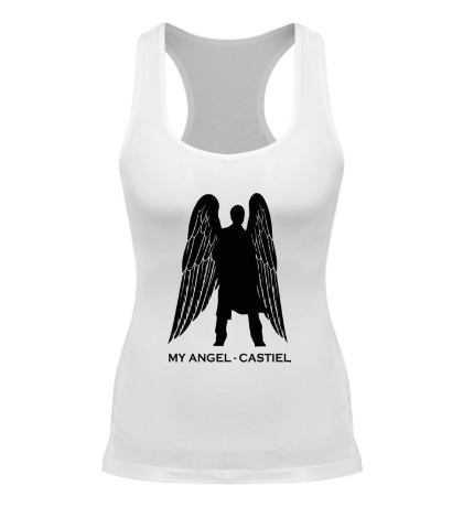 Женская борцовка My angel Castiel