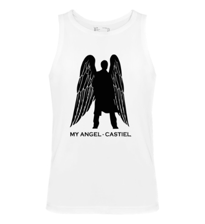 Мужская майка My angel Castiel