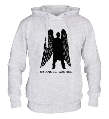 Толстовка с капюшоном My angel Castiel