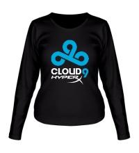 Женский лонгслив Cloud 9: HyperX