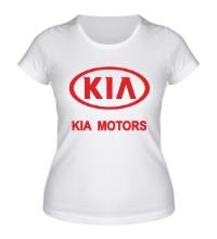 Женская футболка KIA Motors