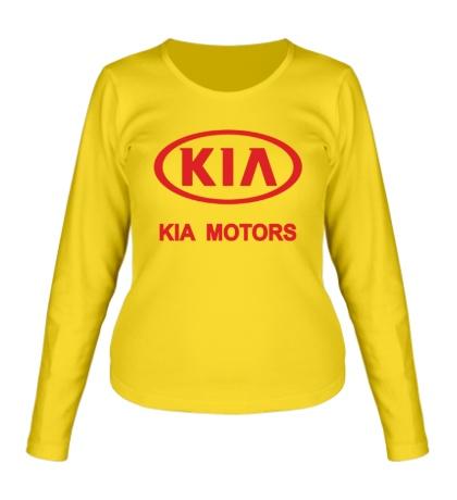 Женский лонгслив KIA Motors