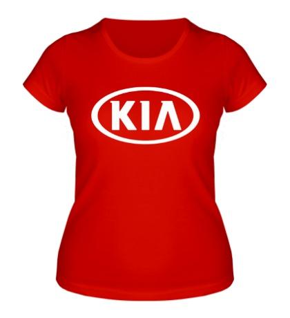Женская футболка Kia