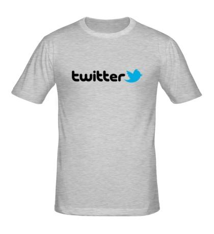 Мужская футболка Twitter