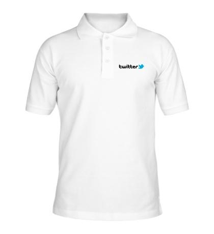 Рубашка поло Twitter