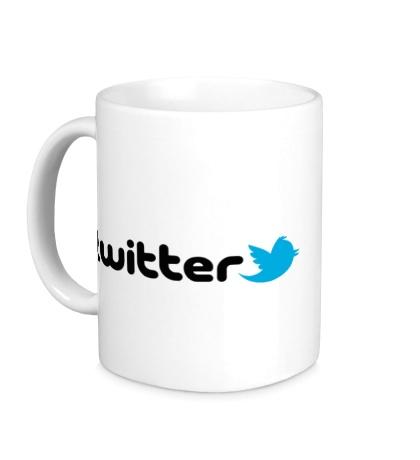 Керамическая кружка Twitter