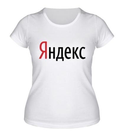 Женская футболка Яндекс