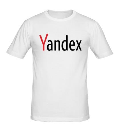 Мужская футболка Yandex